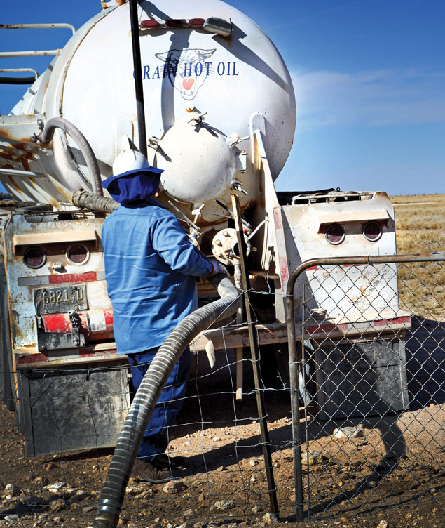 Crain Hot Oil, offers Vacuum Truck Services